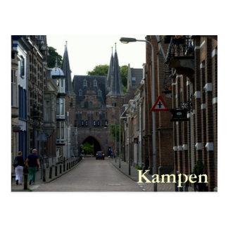 Broederpoort, Kampen Postcard