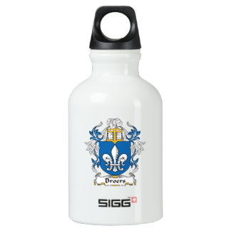 Broers Family Crest Water Bottle