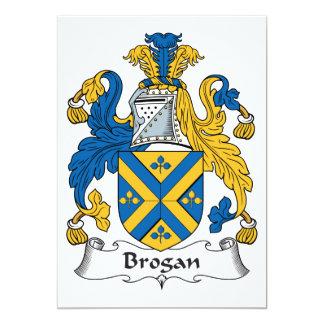 Brogan Family Crest Custom Announcement