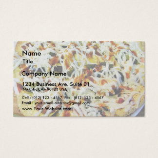 Broiled Nachos Business Card