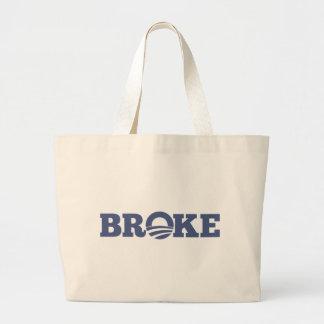 BROKE CANVAS BAG