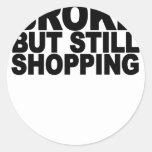 Broke but still shopping.png sticker