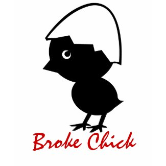 BROKE CHICK T SHIRT shirt