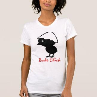 BROKE CHICK T SHIRT
