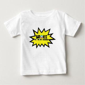 Broke,no more change anti Obama baby Baby T-Shirt