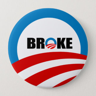 BROKE PINBACK BUTTON