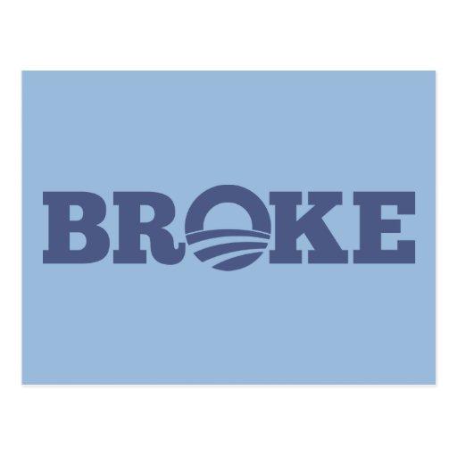 BROKE POSTCARDS