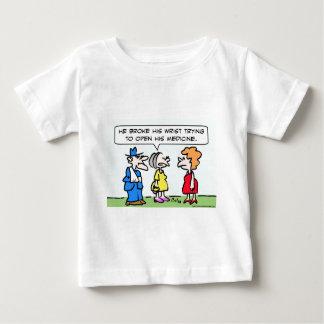 broke wrist open medicine baby T-Shirt