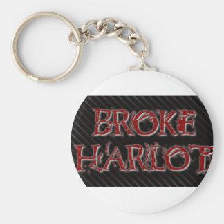 BrokeHarlot Keychain