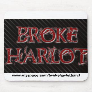 BrokeHarlot, www.myspace.com/brokeharlotband Alfombrillas De Ratón