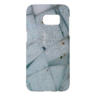 Broken and Cracked Glass Samsung Galaxy S7 Case