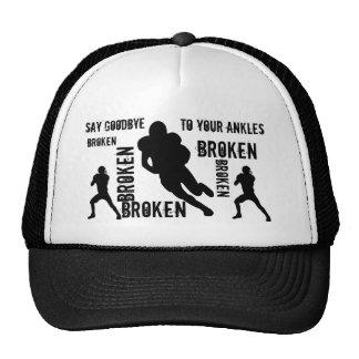 Broken ankles hat