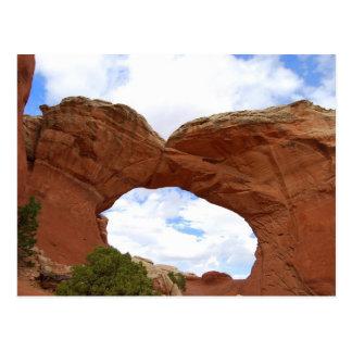 Broken Arch Arches National Park Utah Postcard