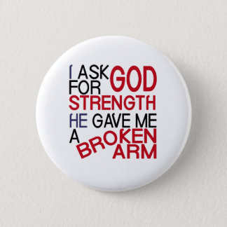 Broken arm form god button