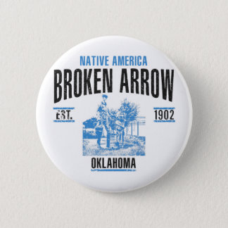 Broken Arrow asdasd Pinback Button