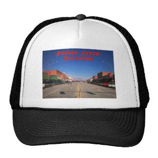 Broken Arrow Oklahoma Downtown View Trucker Hat