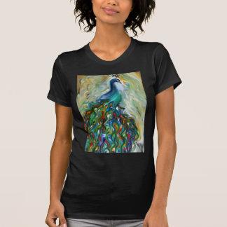 broken beauty peacock art T-Shirt