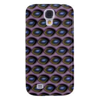 Broken Blue Eyes Galaxy S4 Cover