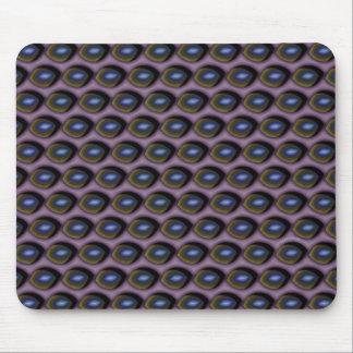 Broken Blue Eyes Mouse Mat