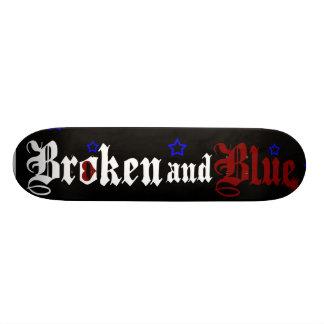 broken-blue skate skate boards