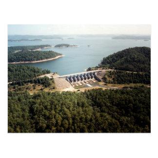 Broken Bow Dam Post Card
