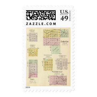 Broken Bow, Nebraska Postage Stamp