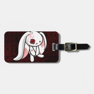 Broken Bunny Luggage Tag