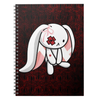 Broken Bunny Spiral Note Books