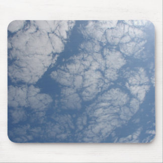 Broken Clouds mouse pad