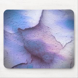 broken colors blue mousepads