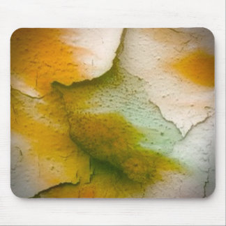 broken colors golden mouse pad