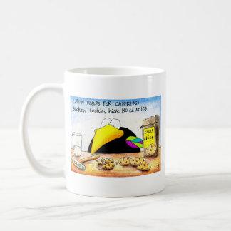 Broken cookies have no calories mug