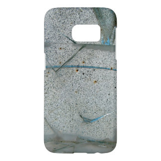 Broken Cracked and Dirty Glass Samsung Galaxy S7 Case