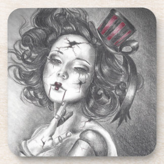 Broken Doll Coaster Creepy Doll Carnival Doll