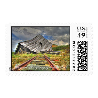 Broken-Down Cabin Stamps