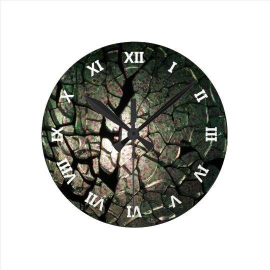Broken Dream Round Clock