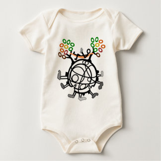 broken Earth Baby Bodysuit
