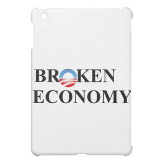 Broken economy iPad mini cases