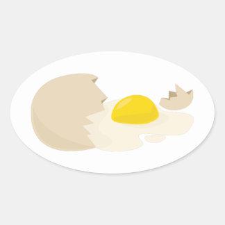 Broken Egg Sticker