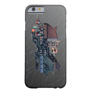 Broken Electronics Barely There iPhone 6 Case