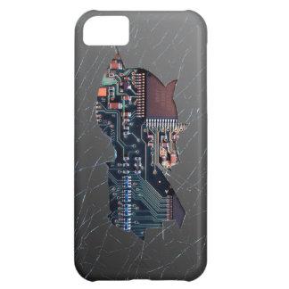 Broken Electronics Case For iPhone 5C