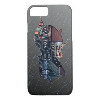 Broken Electronics iPhone 7 Case