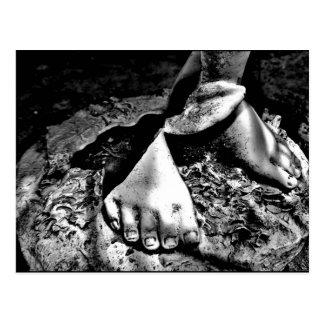 """""""Broken Feet"""" JTG Art Postcard"""