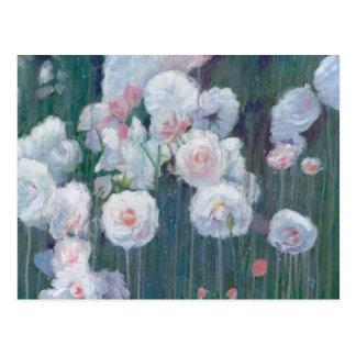 Broken Flowers Postcard