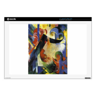 "Broken Forms by Franz Marc 17"" Laptop Skins"