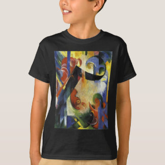 Broken Forms by Franz Marc T-Shirt
