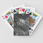Broken glass 2 bicycle card decks