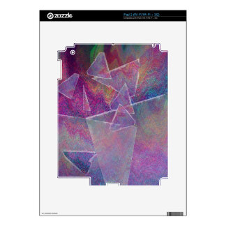 Broken Glass Abstract Art Skin For The iPad 2