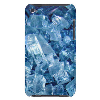 Broken glass blues barely there iPod cover