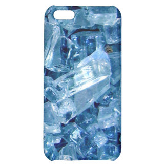 Broken glass blues cover for iPhone 5C
